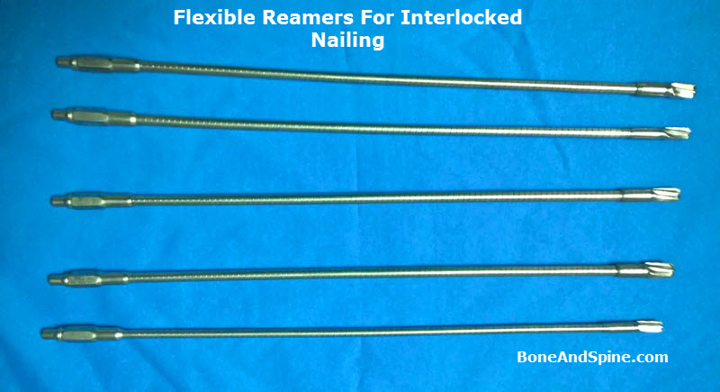 Reamers for interlocking