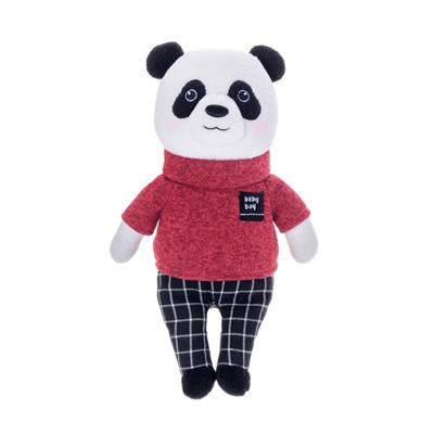 pelúcia de pano panda metoo dolls