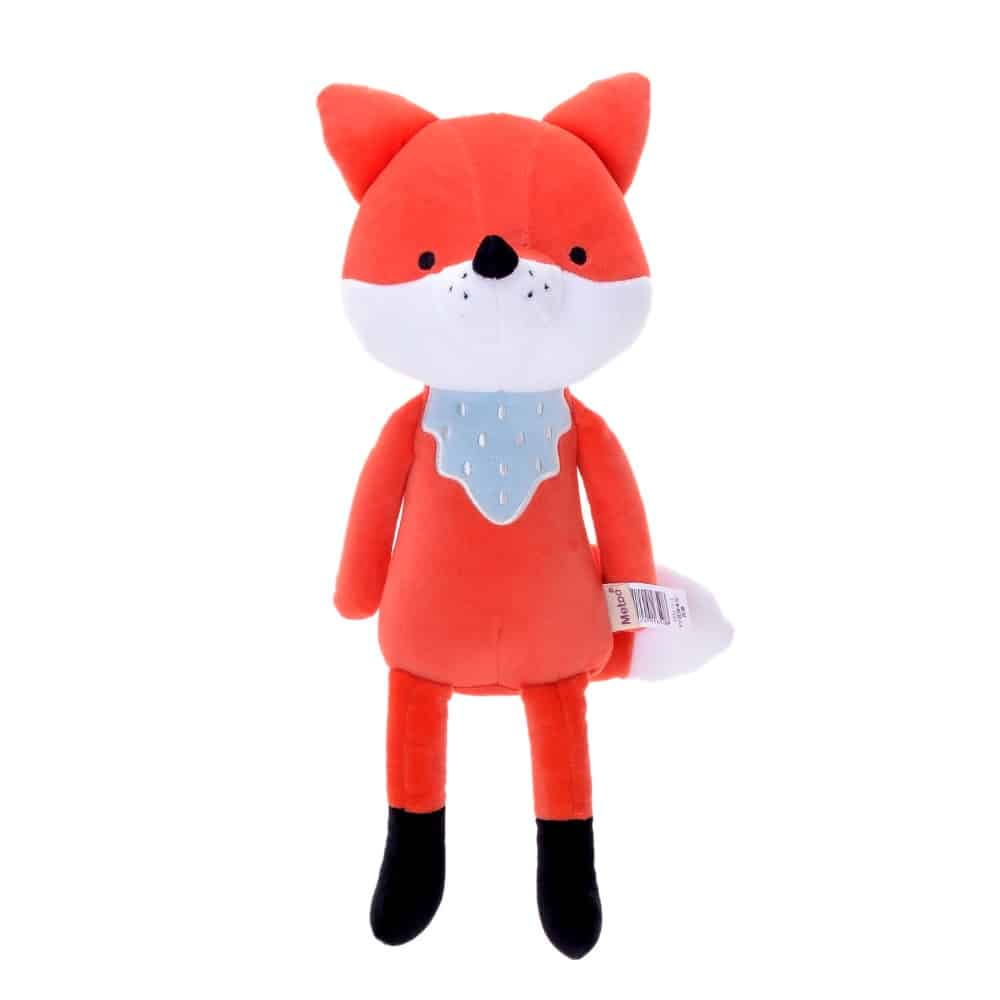 pelúcia de pano raposa laranja
