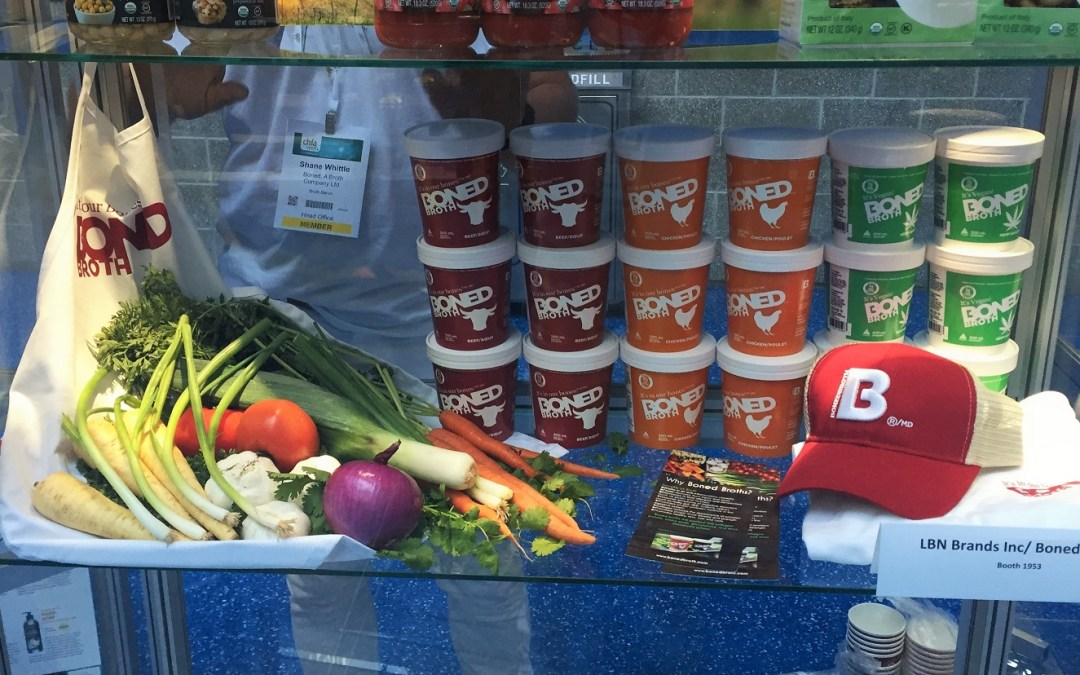 Boned Broth at the CHFA West Trade Show 2016