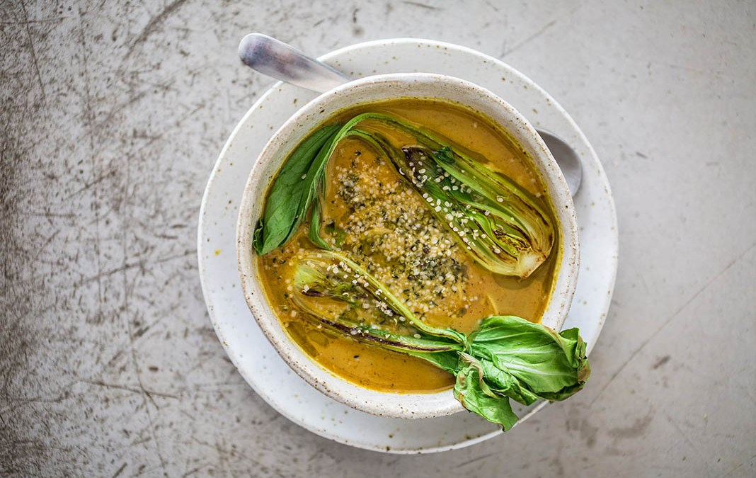 Gut-Healing Coconut Curry Bone Broth by Bondi Harvest