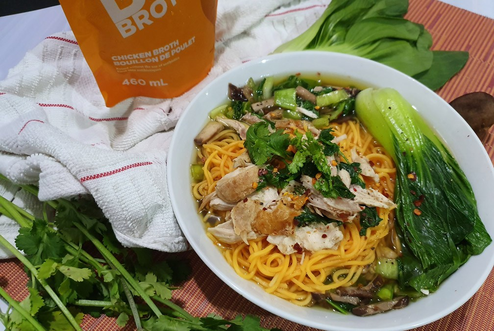 Asian Style Chicken and Noodles