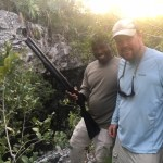 Hermon with guest hog hunting