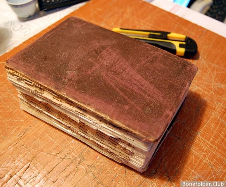 Мастер-класс по ремонту и азам реставрации книг