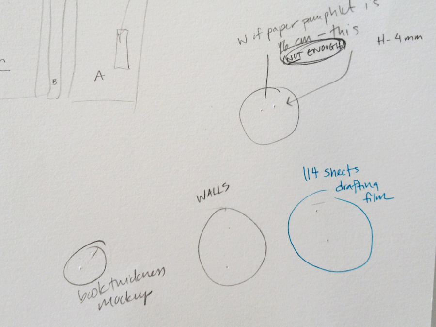 2014.11.10 - 06 - Измерительный циркуль - лист с сохранёнными замерами