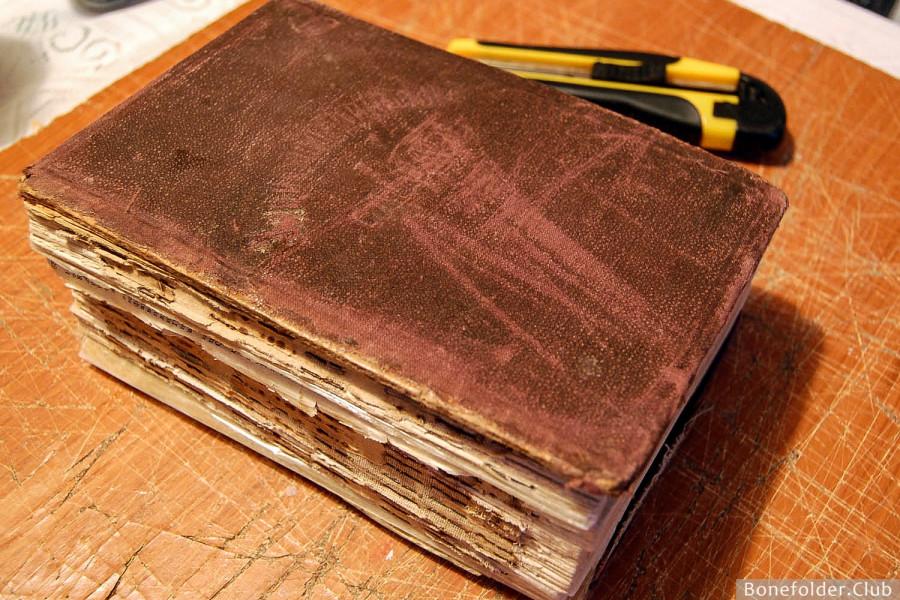 Базовые принципы ремонта и реставрации книг