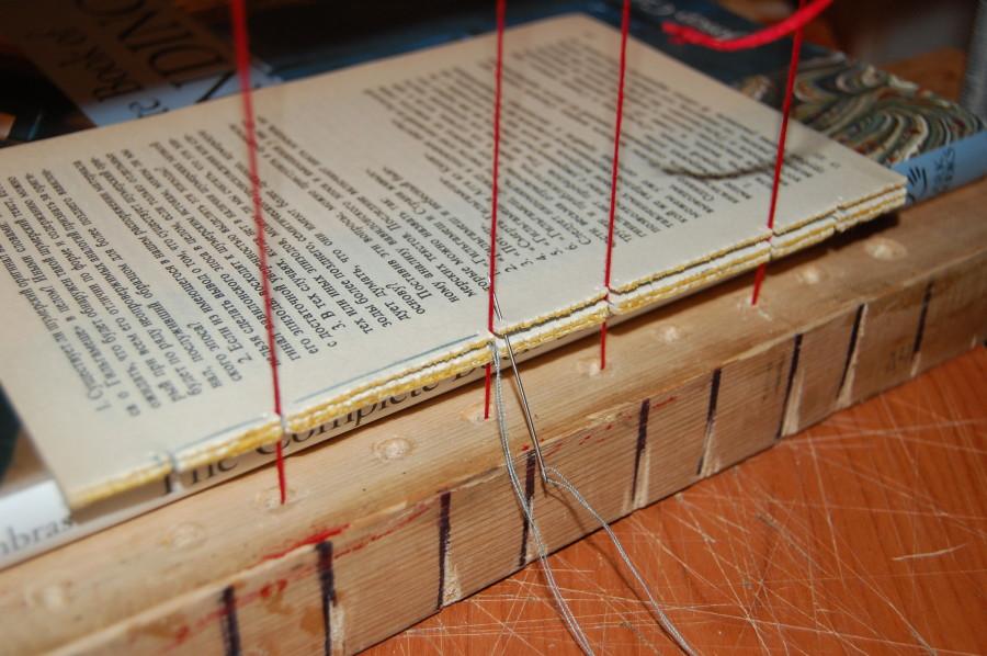 2015.03.19 - Бесплатный вебинар Переплётное дело 101 - Клееные книжные блоки