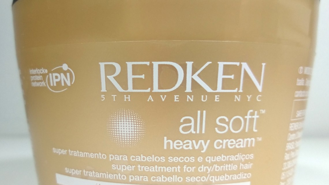 REDKEN All Soft Heavy Cream – resenha