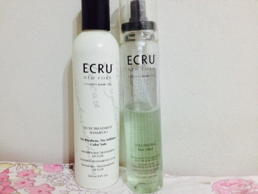 Ecru New York: Luxe Treatment Shampoo / Volumizing Silk Mist: Resenha