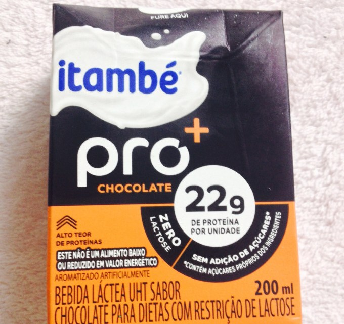 Itambé pro + chocolate: lanchinho proteico