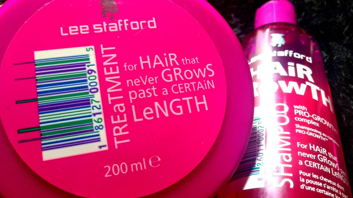 Shampoo e máscara Hair Growth (Lee Stafford): Resenha