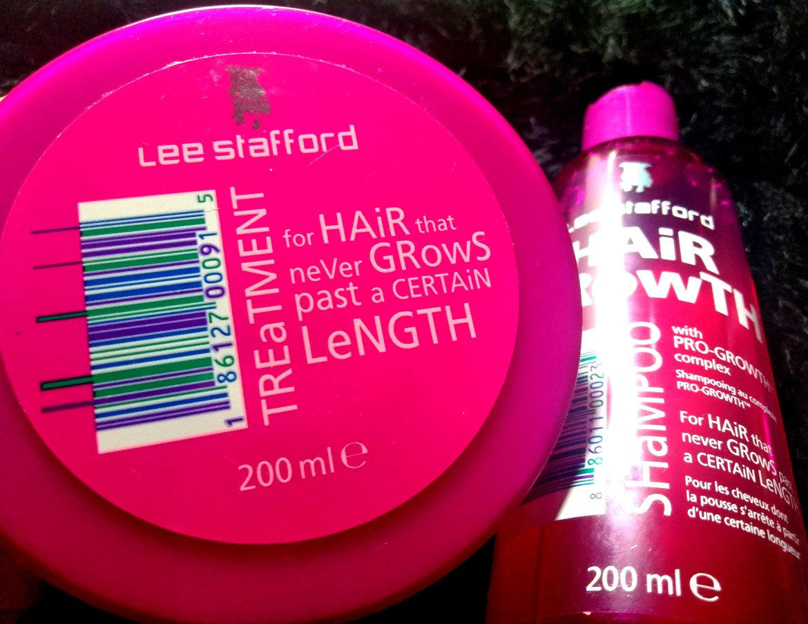 O xampu e máscara Hair Growth™ da Lee Stafford possuem o Pro-Growth Complex