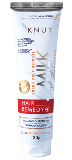 Resenha KNUT Milk Hair Remedy