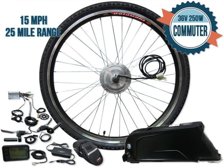 Modwheel electric bike conversion kit