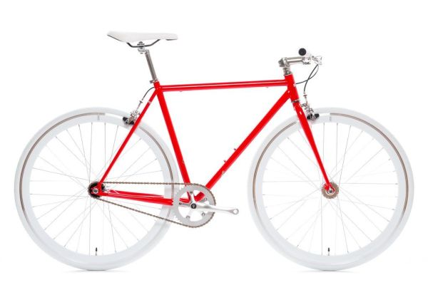 State Bicycle Hanzo Red Fixie Core-Line