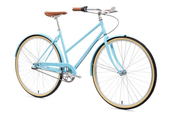 State Bicycle Azure 3 Speed City Bike