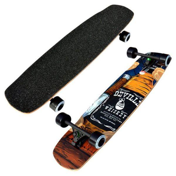 Deville Hooch 37 Freeride Downhill Longboard 2