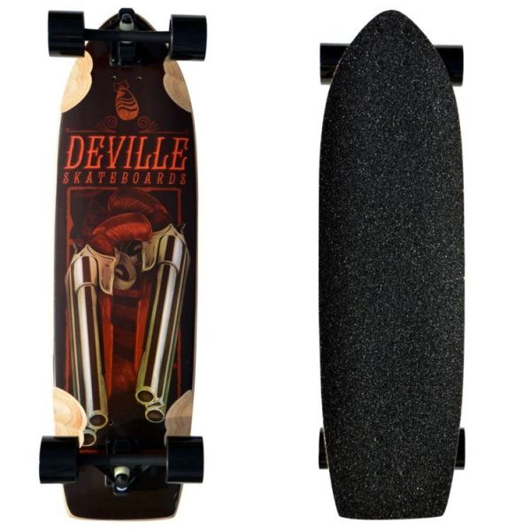 Deville Shotgun 32 Downhill Freeride Longboard main