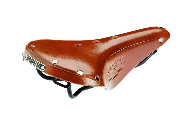 brooks honey brown saddle
