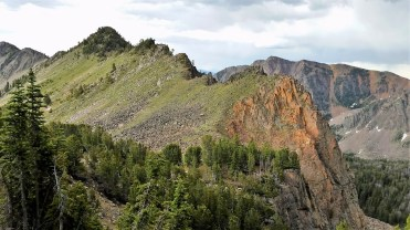 The pass into the Hilgard Lake Basin