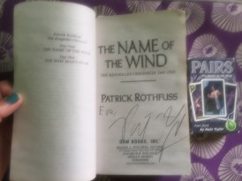 The Name of the Wind Pairs game deck was a gift in exchange for a Bones of Starlight audiobook
