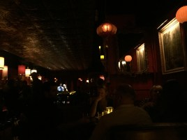 at The Green Lady, Charlie Parker's old digs