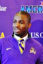 ECU head football coach Scottie Montgomery (Bonesville file photo by Al Myatt)