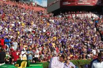 Pirate Nation made its presence known in a corner of Williams-Brice Stadium.