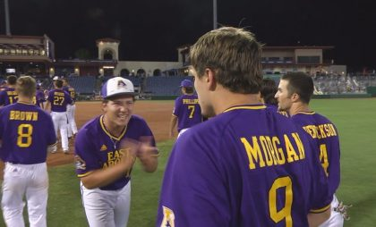 AAC Tournament | ECU vs. USF | Still #8 by Brian Bailey (May 25, 2017 | Clearwater, FL)