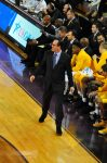 Wichita State coach Gregg Marshall was active on the sideline Thursday night.