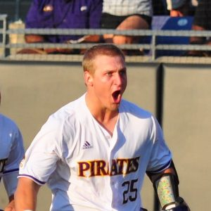 <span style='color:#111111;text-decoration:none!important;font-size:16px;text-transform:uppercase;'>Baseball: NCAA Greenville Regional</span><br>Pirates win regional opener, 16-7