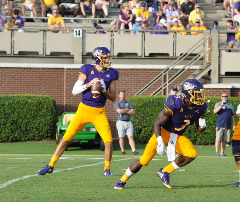 Reid Herring passed for 309 yards and three touchdowns. (Photo by Al Myatt)