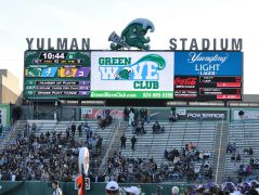 East Carolina played its first game at Yulman Stadium. The Green Wave played at the Superdome previously. (Photo by Al Myatt)