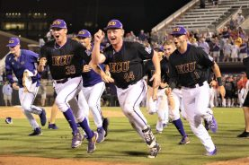 The Pirates were still on the move after a four-game run to the regional crown. (Photo/Dunn Area Sports/Paul Burgett)