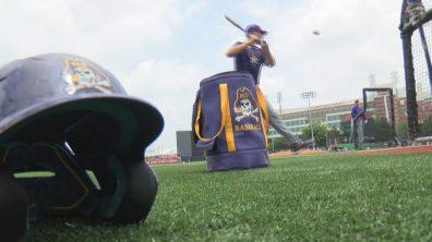 Pirates in Louisville still frame #10 courtesy WNCT-TV