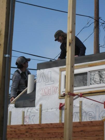Building storage boxes