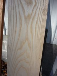 The Ash wood I will use for my flooring and interior trim