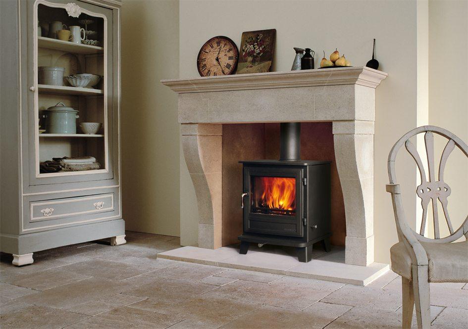marseilles stone fireplace 1