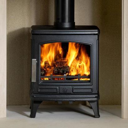 The ACR Oakdale Mult fuel wood stove