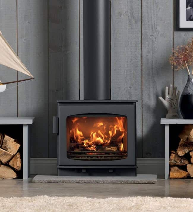 acr wychwood grey ecodesign stove