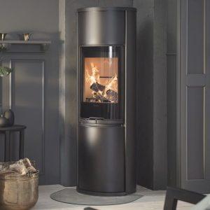 contura 690G wood burning stove in black