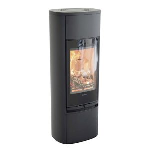 Contura 890g wood burning stove in black