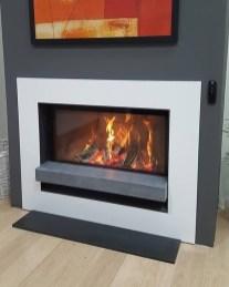 Barbas Evo 100/50 wood burning fire installation
