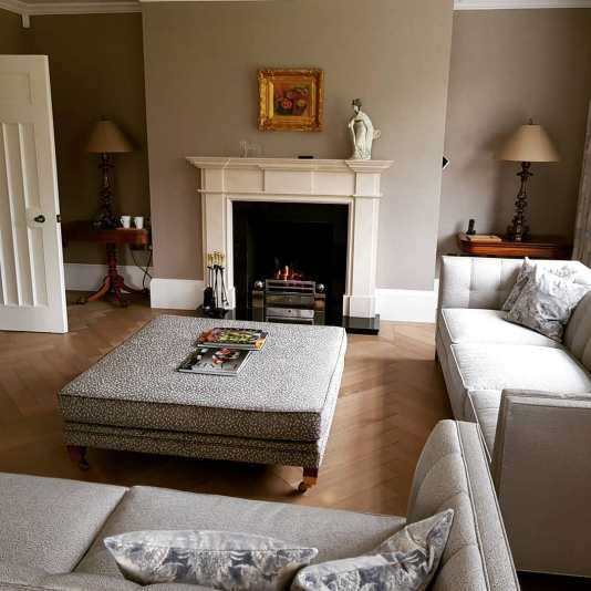 Open Fireplace Installation