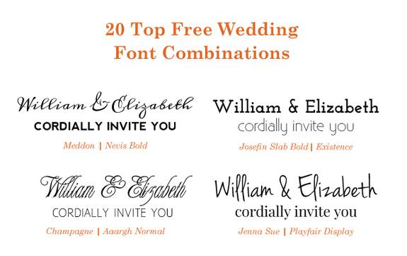 free wedding fonts # 85