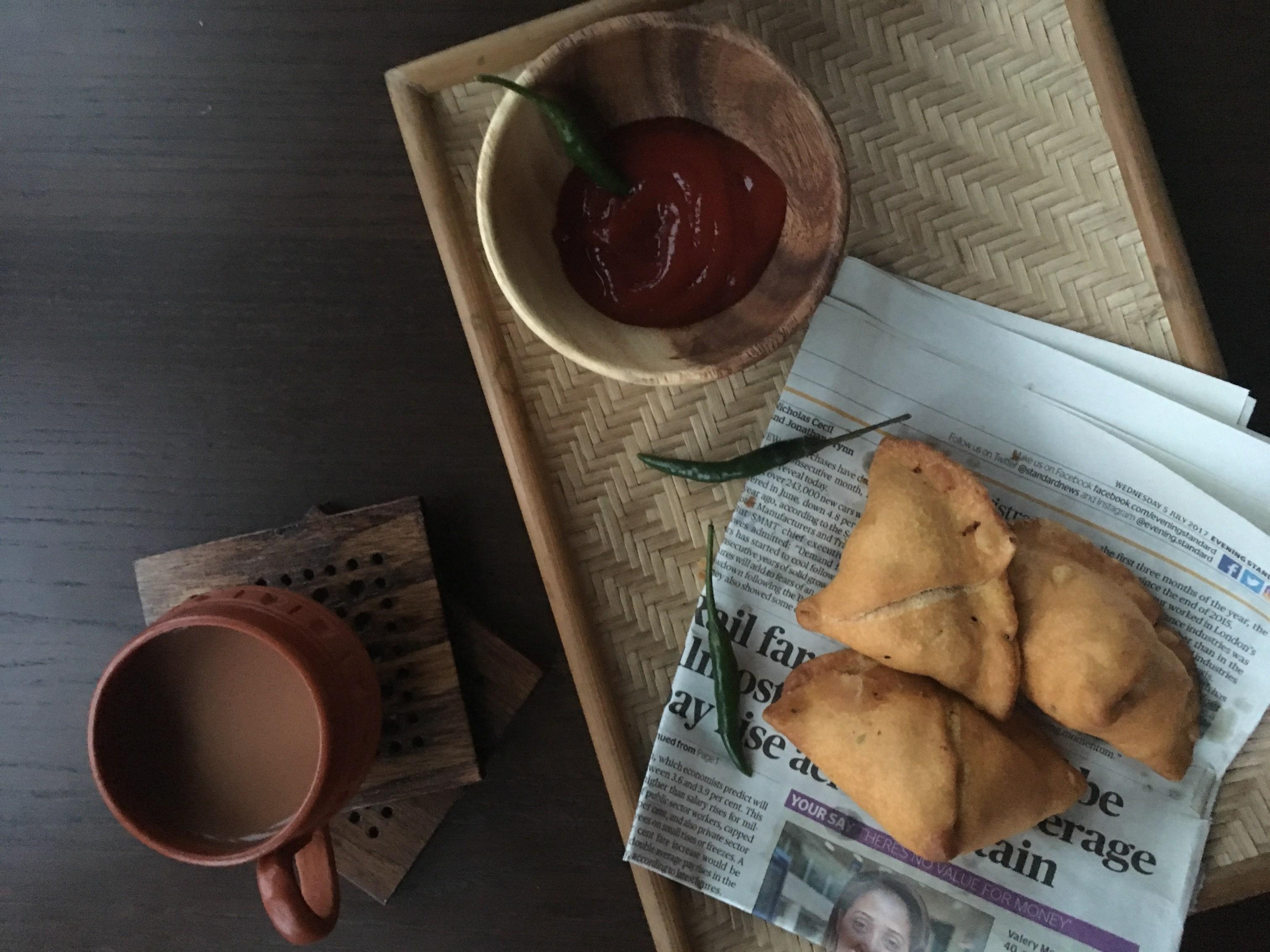 Bengali Phulkopir Singara -Classic Bengali Samosa