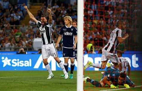 %name Hạ Lazio 2 0, Juventus đút túi danh hiệu đầu tiên