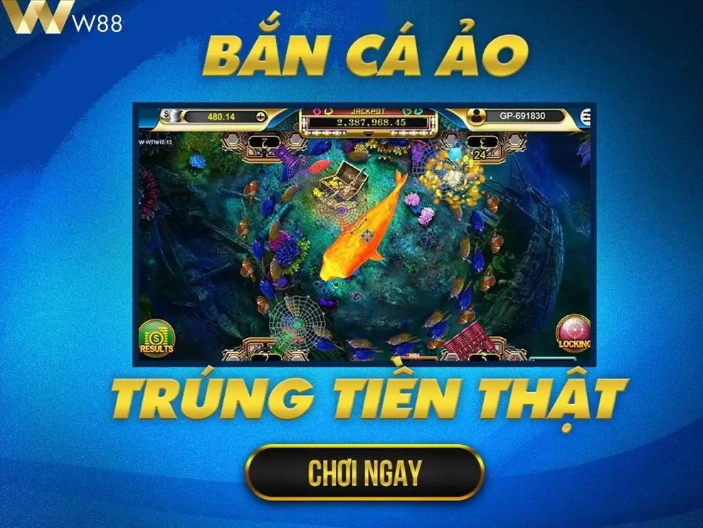 Game bắn cá online đổi thưởng tiền thật trong 3 phút