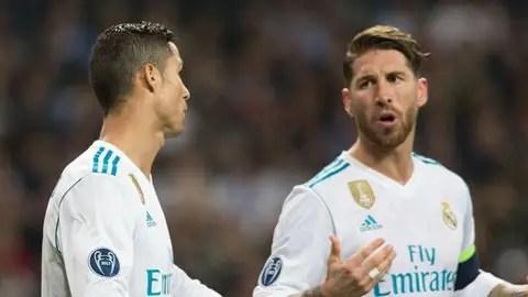 %name Ramos vùi dập ý kiến của Ronaldo về đội hình Real