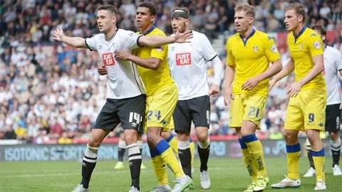 %name Hạng nhất Anh   Nhận định bóng đá Leeds vs Derby County, 02h45 ngày 1/11